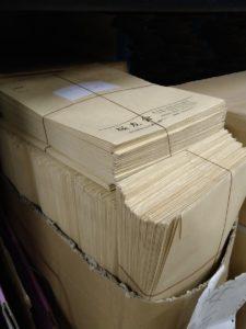 返送された封筒